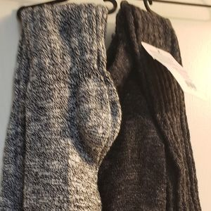 2 pairs slouch boot socks